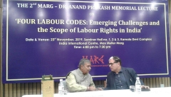Keynote speaker Mr. Subhash Bhatnagar and Chief Guest Justice (Retd.) A.K. Sikri
